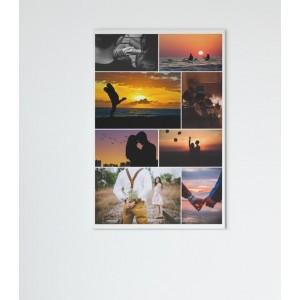 Tablou Canvas Personalizat - Colaj 8 Poze - Printbu.ro - 1
