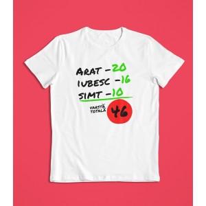 Tricou Personalizat - Arat - Iubesc - Simt - Printbu.ro - 1