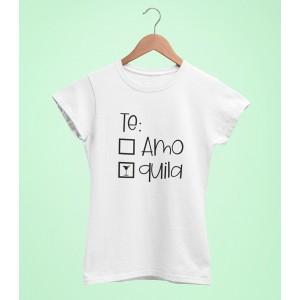 Tricou Personalizat - Te: Quila - Printbu.ro - 1