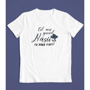 Tricou Personalizat Barbati - Cel mai special nasic - Printbu.ro - 1