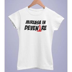 Tricou Personalizat Femei - Mireasa in devenire - Printbu.ro - 1