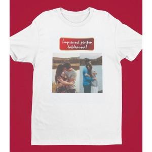 Tricou Personalizat Barbati - Impreuna Pentru Totdeauna - Doua Poze - Printbu.ro - 1