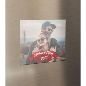 Magnet Frigider Personalizat - Love - Nume si Poza - Printbu.ro - 1