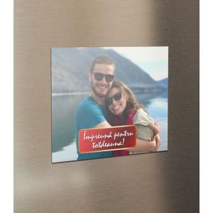 Magnet Frigider Personalizat - Impreuna Pentru Totdeauna - Poza - Printbu.ro - 1