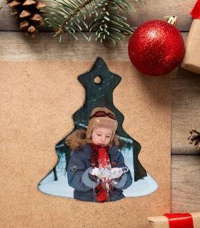 Ornament de Brad Personalizat - Bradut - Poza - Printbu.ro - 1