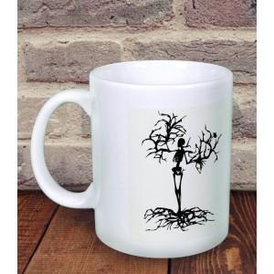 Cana Personalizata - Fosforescenta - Dead Tree - Nume - Printbu.ro - 1