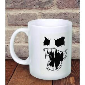 Cana Personalizata - Fosforescenta - Scary Face - Nume - Printbu.ro - 1