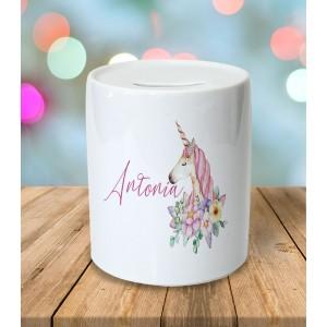 Pusculita Personalizata - Unicorn - Printbu.ro - 1