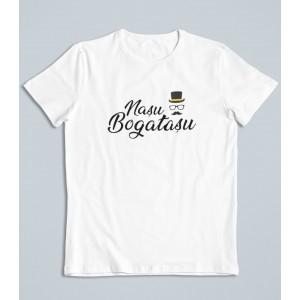 Tricou Personalizat Barbati - Nasu' Bogatasu' - Printbu.ro - 1