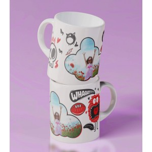 Cana Personalizata Mica - Simpla - Funny Monsters - Poza - Printbu.ro - 2