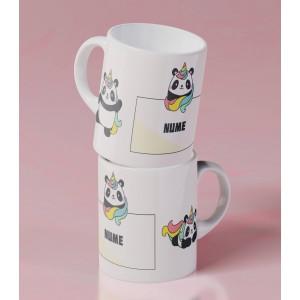 Cana Personalizata Mica - Simpla - Panda - Nume - Printbu.ro - 1