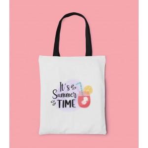 Geanta Personalizata Tote - It's Summer Time - Printbu.ro - 1