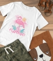 Tricou Personalizat Fete - Flamingo - Nume - Printbu.ro - 2
