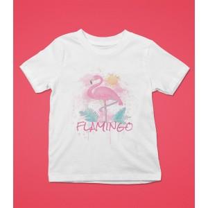 Tricou Personalizat Fete - Flamingo - Nume - Printbu.ro - 1