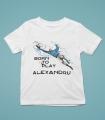 Tricou Personalizat Baieti - Born To Play - Goalkeeper - Nume - Printbu.ro - 1