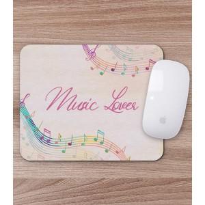 Mousepad Personalizat - Dreptunghi - Music Lover - Printbu.ro - 1