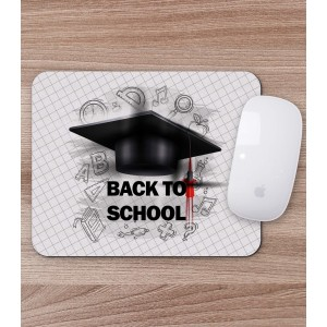 Mousepad Personalizat - Dreptunghi - Back To School - Printbu.ro - 1