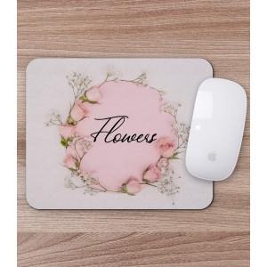 Mousepad Personalizat - Dreptunghi - Flowers - Printbu.ro - 1