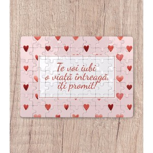 Puzzle Personalizat - Magnetic - LOVE - Textul tau! - Printbu.ro - 1