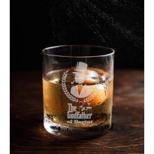 Pahar Whisky Personalizat - The Godfather - Nume - Printbu.ro - 1