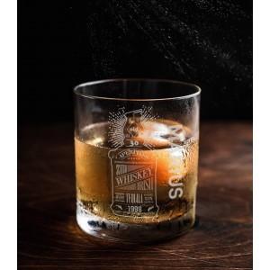 Pahar Whisky Personalizat - Old Whisky - Nume si Varsta - Printbu.ro - 1