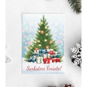 Felicitare Personalizata - Sarbatori Fericite - Nume Familie - Printbu.ro - 6
