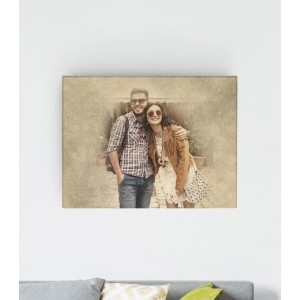 Tablou Canvas Personalizat - Antique Picture - Printbu.ro - 1