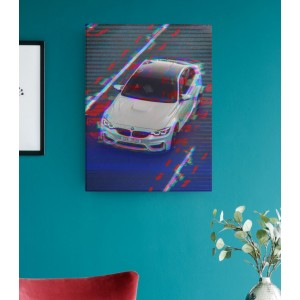 Tablou Canvas Personalizat - Glitch - Printbu.ro - 1