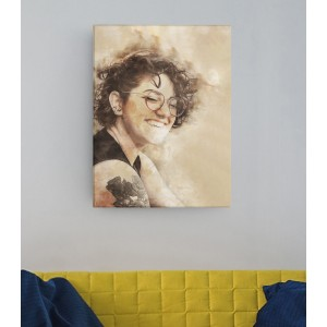 Tablou Canvas Personalizat - Retro Picture - Printbu.ro - 1